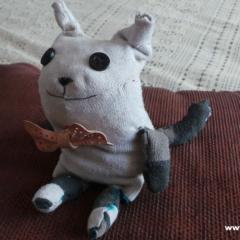 Transforma un calcetín viejo en un muñeco perfumado de lavanda